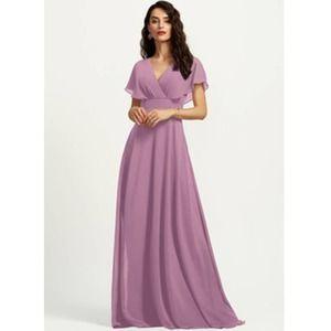 JJ's House A-Line V-neck Bridesmaid Dress Sz 2